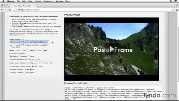 Flash fallback: Up and Running with HTML5 Video