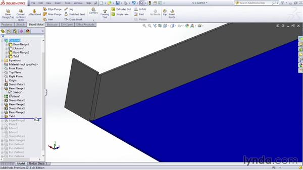 Building a chassis: Sheet Metal Design with SOLIDWORKS