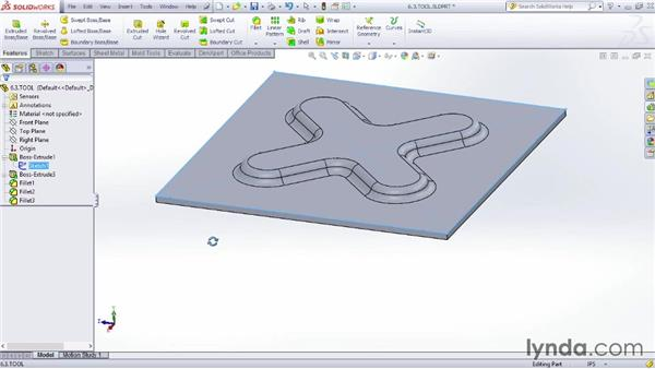 Creating a custom forming tool for Design table not working solidworks