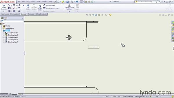Looking at sheet options: Sheet Metal Design with SOLIDWORKS