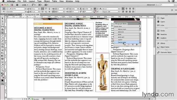 Understanding the basics of InDesign text styles (for Word users): Using Word and InDesign Together