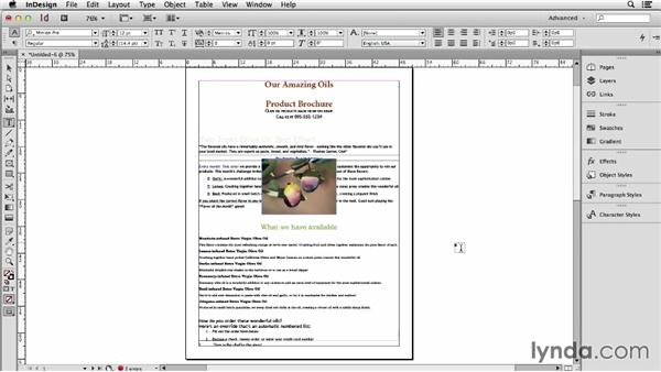 Identifying which formatting attributes transfer and which don't: Using Word and InDesign Together