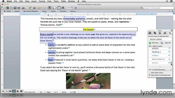 Cleaning up text formatting in Word: Using Word and InDesign Together