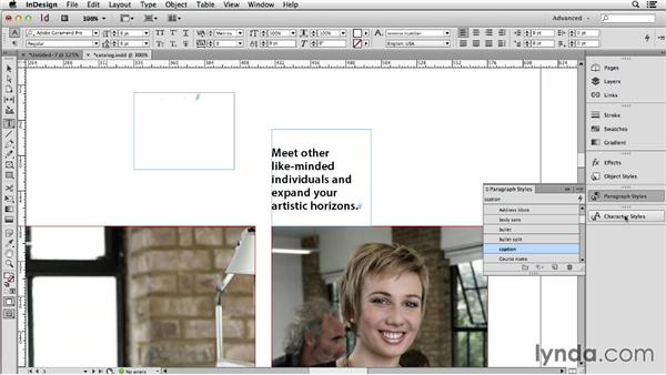 Checking paragraph and character defaults in InDesign: Using Word and InDesign Together