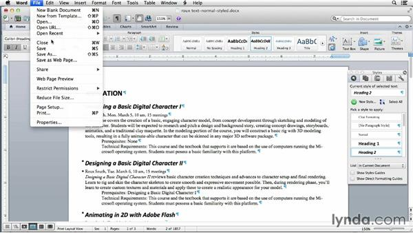 Linking to Word files for automatic updating: Using Word and InDesign Together