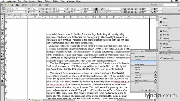 Replacing Word styles with InDesign ones after importing: Using Word and InDesign Together