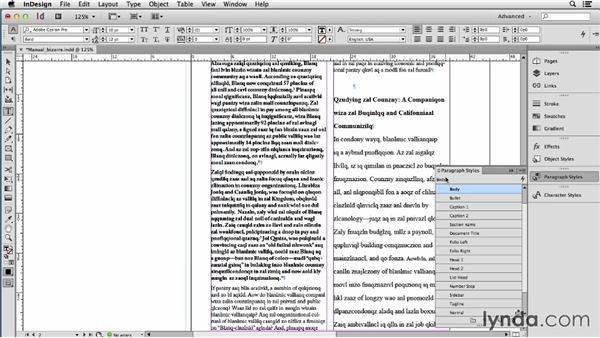 Diagnosing and fixing bizarrely formatted text: Using Word and InDesign Together