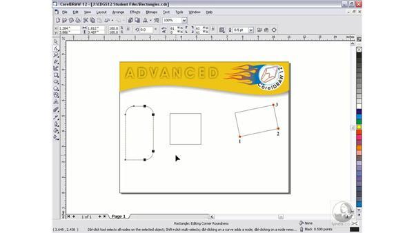 rectangle tool: CorelDRAW 12 Beyond the Basics