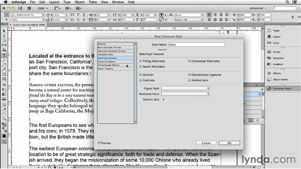 Converting local formatting to character styles with Find/Change: Using Word and InDesign Together