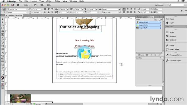 Extracting embedded art from a Word file: Using Word and InDesign Together