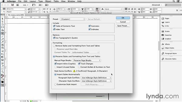 Linking to Word files with the WordsFlow plugin: Using Word and InDesign Together