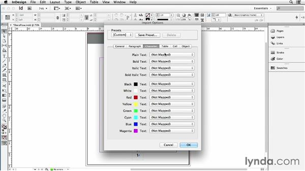 Syncing Google Docs with InDesign via the DocsFlow plugin: Using Word and InDesign Together