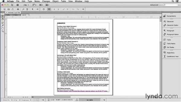 Converting Word docs to InCopy for fast and accurate formatting: Using Word and InDesign Together