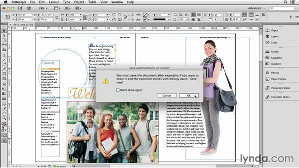 Collaborating with an InDesign-InCopy workflow: Using Word and InDesign Together