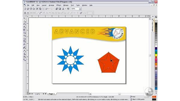 polygons: CorelDRAW 12 Beyond the Basics