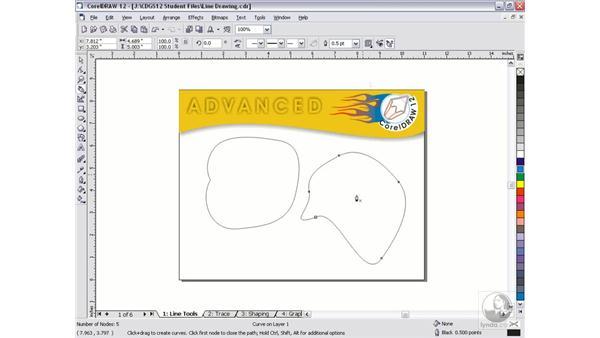 pen tool: CorelDRAW 12 Beyond the Basics