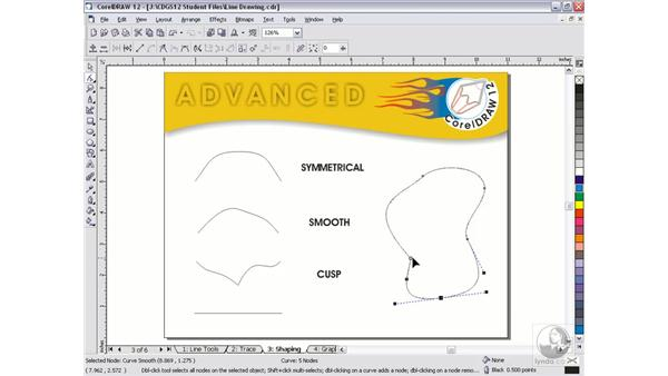 nodes and lines: CorelDRAW 12 Beyond the Basics