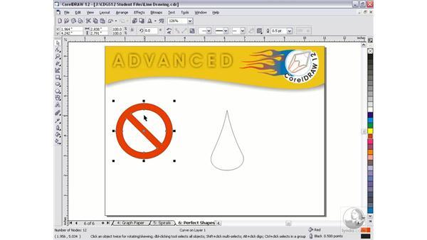perfect shapes: CorelDRAW 12 Beyond the Basics