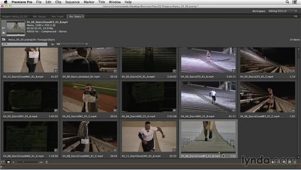 Building action montages: Commercial Editing Techniques with Premiere Pro
