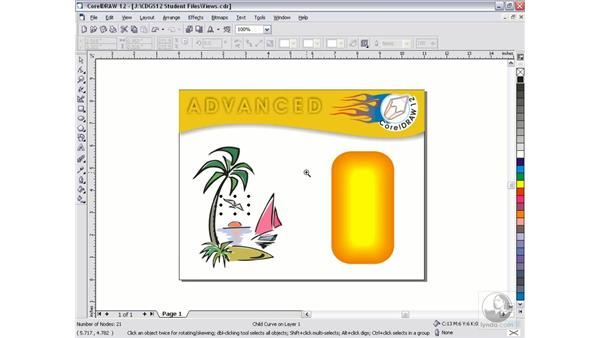 viewing your work: CorelDRAW 12 Beyond the Basics