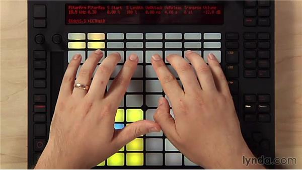 Programming beats using drum racks: Making Music with Ableton Push