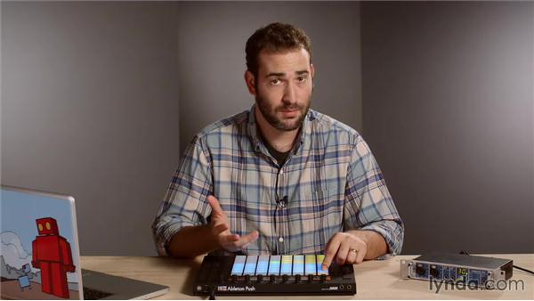 Humanizing beats: Making Music with Ableton Push