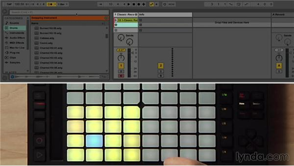 Recording drums in real time: Making Music with Ableton Push