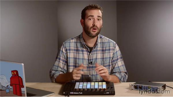 Adding swing and fixing human timing errors: Making Music with Ableton Push