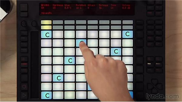 Understanding notes and scales: Making Music with Ableton Push