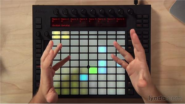 Step sequencing melodies: Making Music with Ableton Push