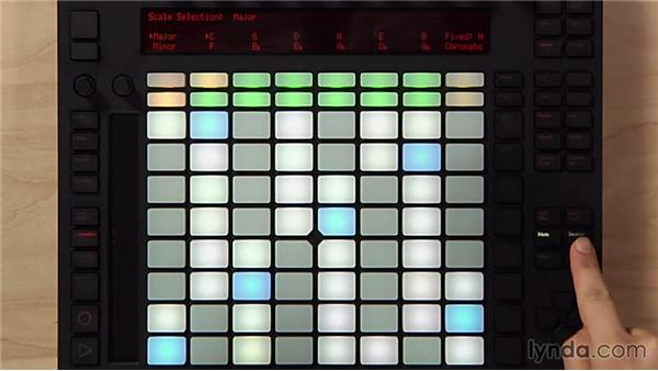 Using Key mode to learn new songs: Making Music with Ableton Push