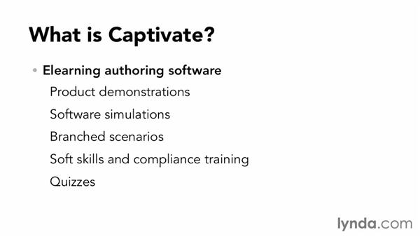 What is Captivate 7?: Up and Running with Captivate 7