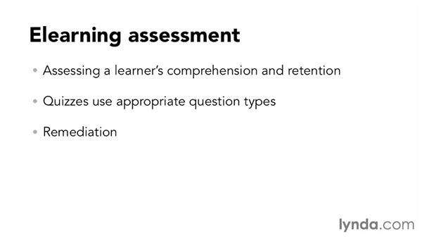 Elearning assessment basics: Up and Running with Captivate 7
