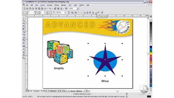 newer shaping: CorelDRAW 12 Beyond the Basics