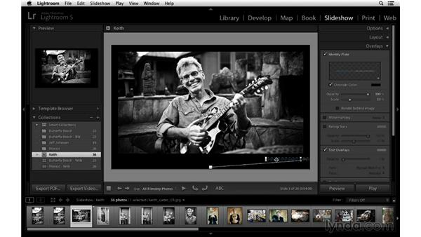 : Lightroom 5 Essentials: 06 Creating Slideshows and Web Galleries