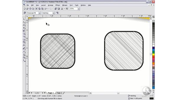 postscript fills: CorelDRAW 12 Beyond the Basics