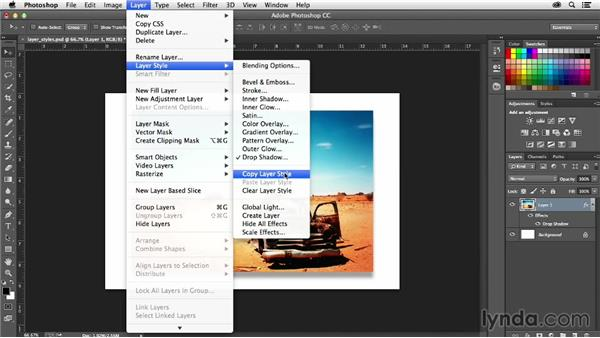 How to create layers from Photoshop Layer Styles: Creative Quick Tips