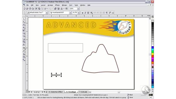 envelopes: CorelDRAW 12 Beyond the Basics