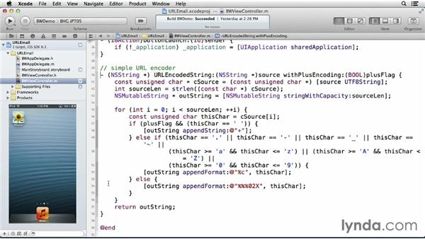 Sending an email using the mailto scheme: iOS 6: iOS System Resources