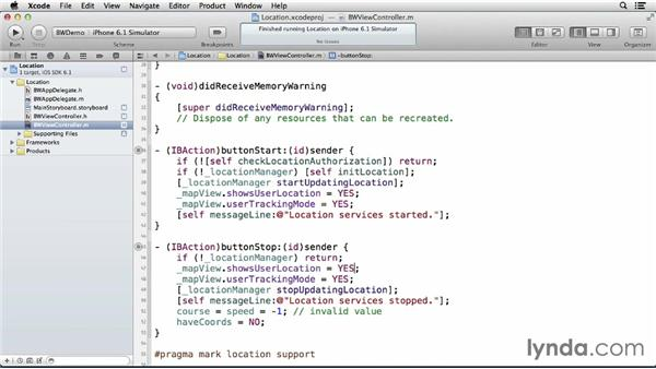 Displaying a map: iOS 6: iOS System Resources