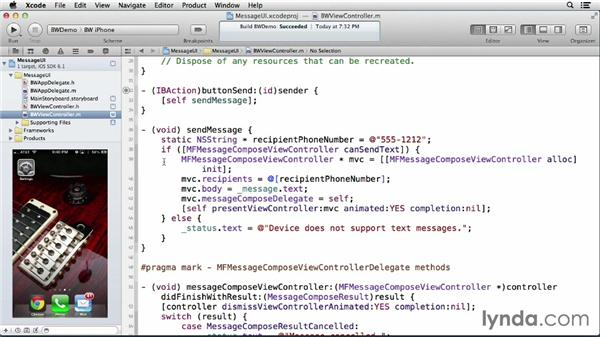 Sending messages with the Message UI framework: iOS 6: iOS System Resources