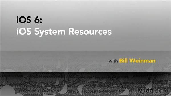 Goodbye: iOS 6: iOS System Resources