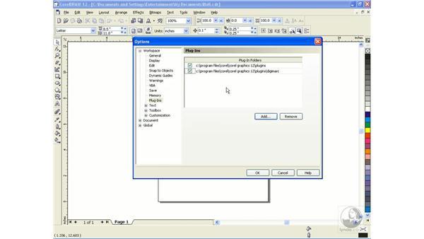 plug-ins: CorelDRAW 12 Beyond the Basics