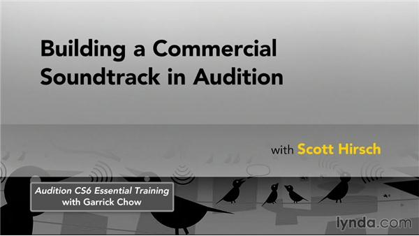 Next steps: Building a Commercial Soundtrack in Audition
