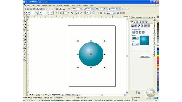 object properties: CorelDRAW 12 Beyond the Basics