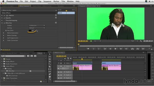 When to key in Premiere Pro: Adobe Green-Screen Workflow