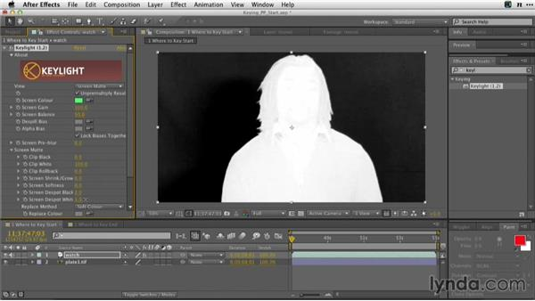 When to key in After Effects: Adobe Green-Screen Workflow