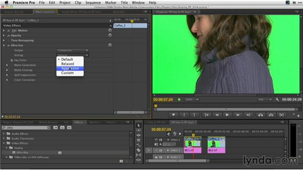 Using the Ultra Keyer: Adobe Green-Screen Workflow