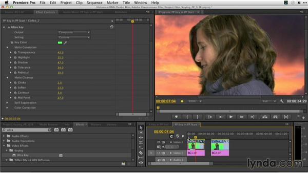 Refining the Ultra Keyer: Adobe Green-Screen Workflow