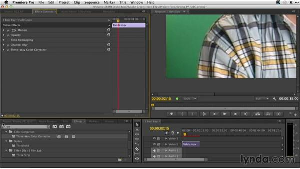 How to get the best key in Adobe Premiere Pro: Adobe Green-Screen Workflow